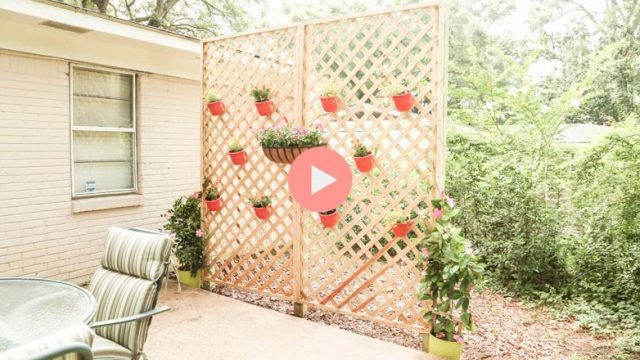 Completed Privacy with Lattice DIY Project