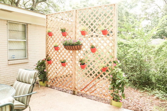 Privacy Lattice Wall How To Video