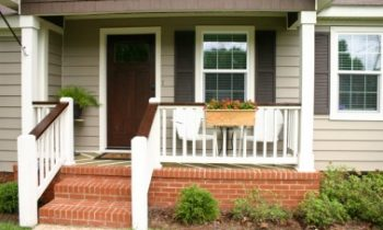 Front Porch After Cleaning and Painting