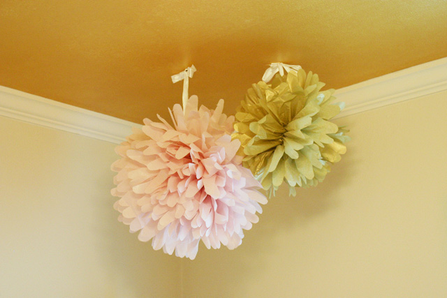 how to make tissue paper party decor checking in with