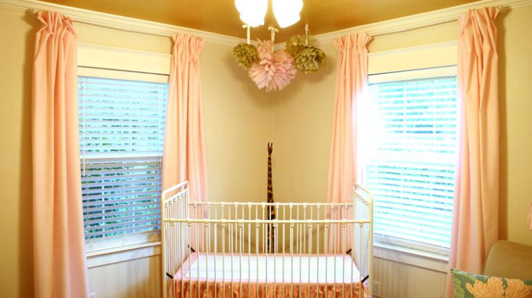 Easy No Sew Diy Curtains With Pleats Checking In With