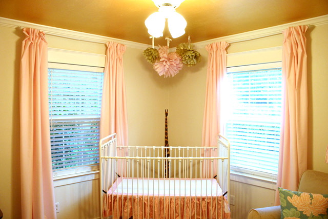DIY Ruffled Crib Skirt From Fitted Sheet | Checking In With Chelsea