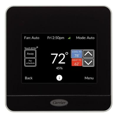 cor wifi smart thermostat giveaway checking in with chelsea. Black Bedroom Furniture Sets. Home Design Ideas