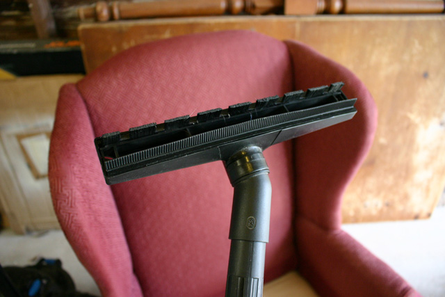 upholstery brush attachment for vacuum