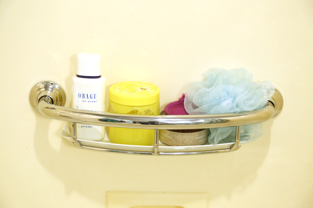 Grab Bar with Shelf from Moen