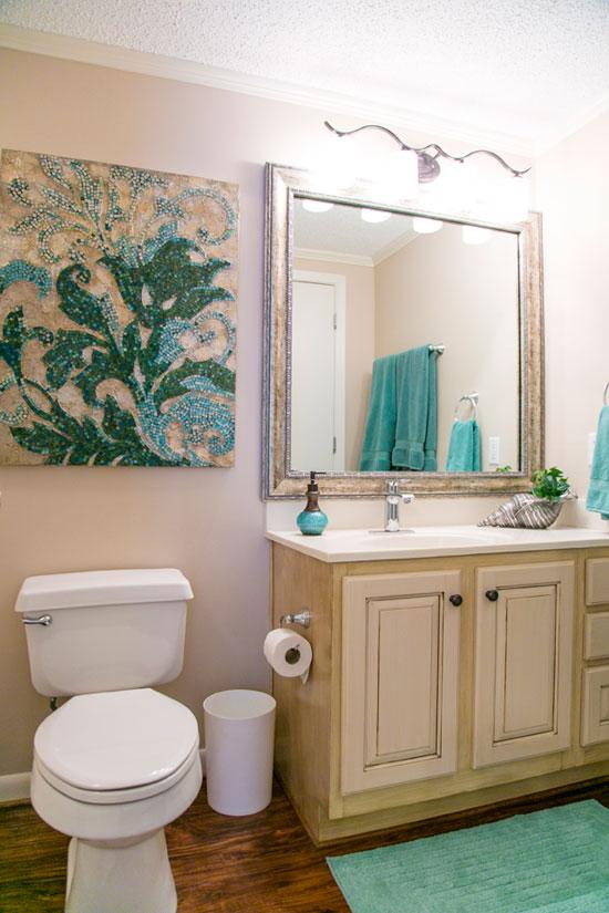 Condo Hall Bathroom After