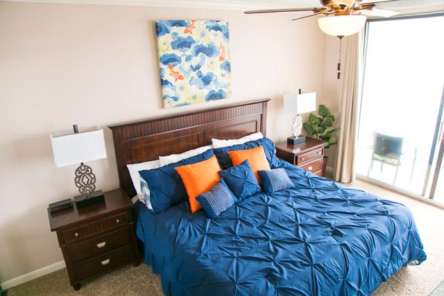 Condo Master Bedroom After