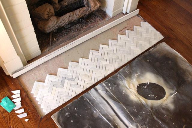 Dryfitting tiles Before Thinset