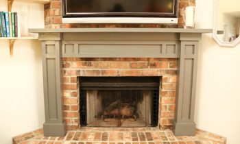 Shaker-Style Fireplace Mantel How To Plans