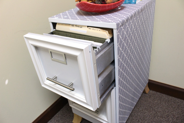File Cabinet Open Drawer