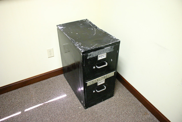 Marvelous Black Metal File Cabinet Before Makeover