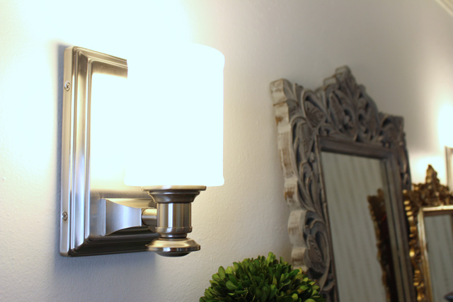 Brushed Nickel Wall Sconce