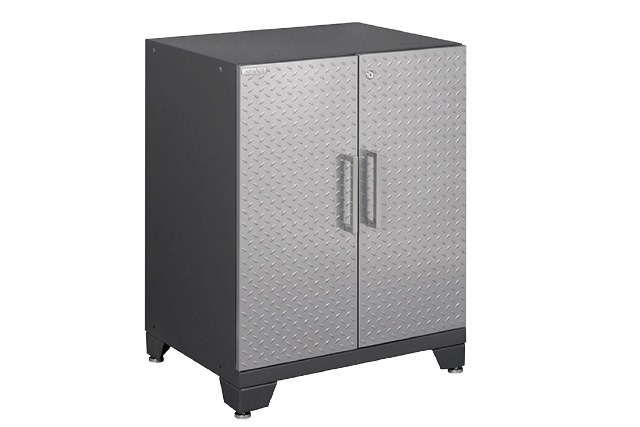 Diamond Plate Garage Cabinet from Home Depot