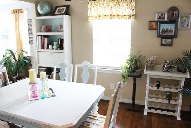 Dining Room from Kitchen Doorway