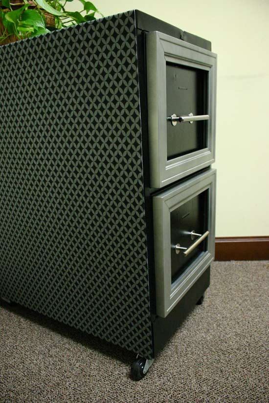 Finished Manly File Cabinet Redo