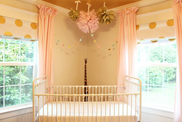 Nursery After Hanging Garland