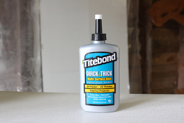 Titebond Quick and Thick Multi-Surface Glue