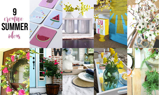 9 Creative Summer Craft Ideas