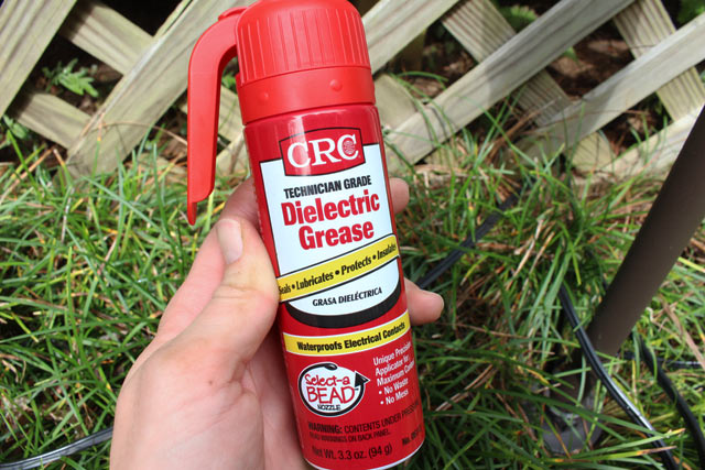 Dielectric Grease Wiring Harness : Installing mosquito repellent lights checking in with