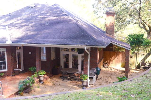 Lipford Family Home Outdoor Patio