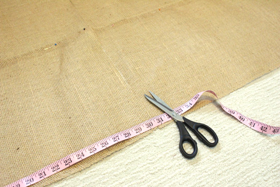 Cutting Table Runner to Width