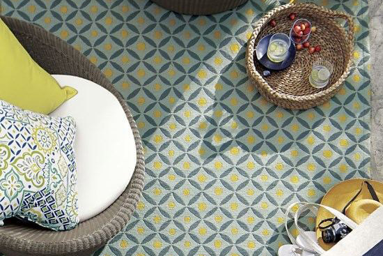 design inspiration for homemade painted entry rug