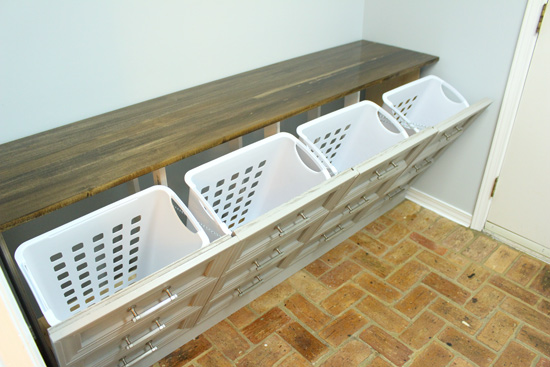 4 Hamper Laundry Sorter
