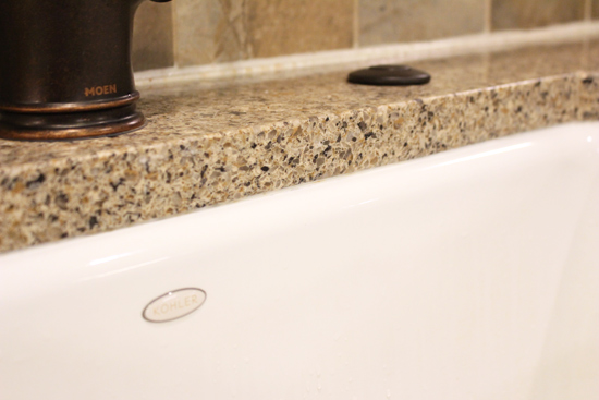 Easy Way To Clean Moldy Caulk Checking In With Chelsea - Easy way to clean tub