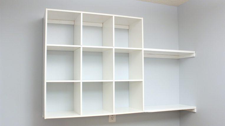 Craft Room Organization Diy Cubbies