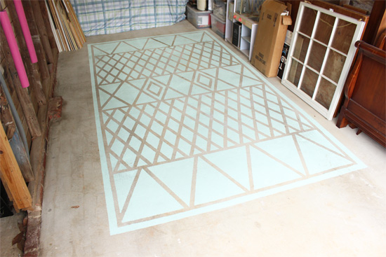 How To Paint A Garage Floor Checking In With Chelsea