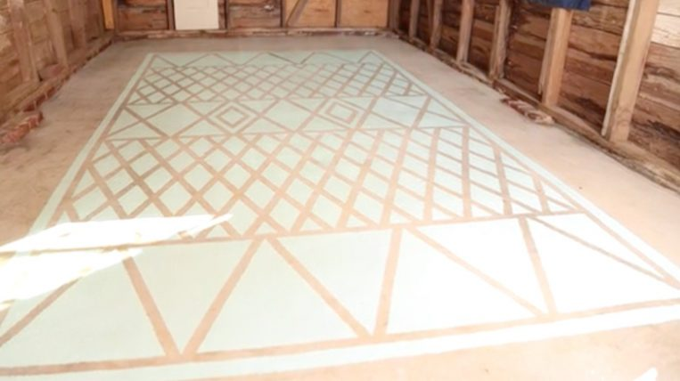 How To Paint A Garage Floor | Checking In With Chelsea How To Paint Garage Floor on spray paint garage floor, base concrete floor, diy acid stained concrete floor, painted concrete floor,