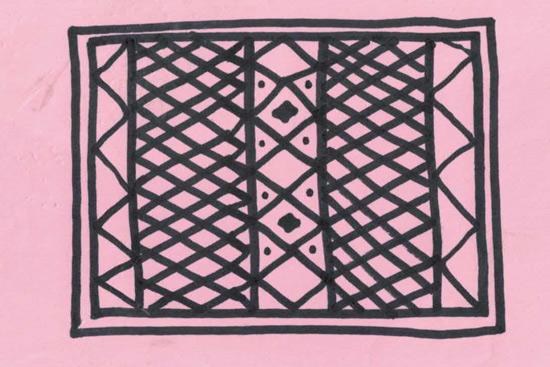 Sketch of Rug Design for Garage Floor