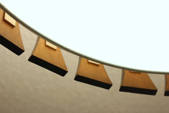 Wood Tone of Light Fixture Surround