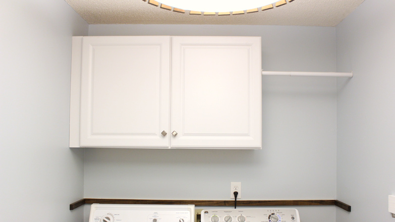 Installing Wall Cabinets In Laundry