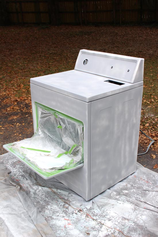 Dryer with One Coat of Primer