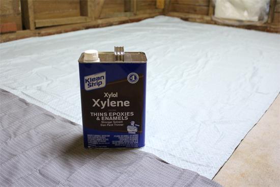 Gallon of Xylene for Stripping Concrete Sealer