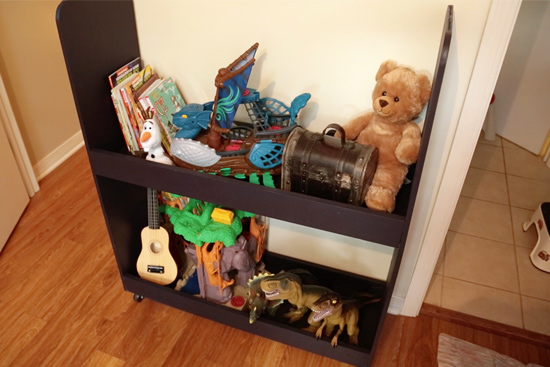 How to Build Rolling Toy Storage