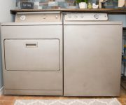 How to Paint Washer and Dryer