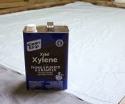 Xylene Used to Strip Sealer from Concrete