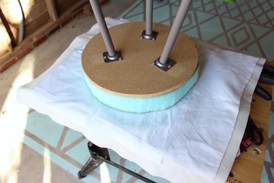 Adding White Liner Under Fur Fabric