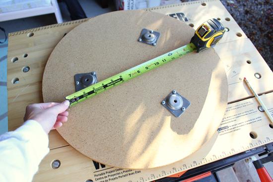 Determining Width of Footstool