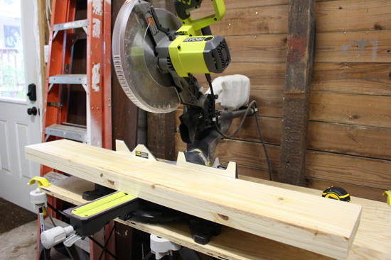 Cutting Stair Treads on Miter Saw