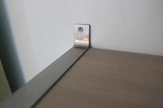 Marking Screw Holes on Shelf Bracket