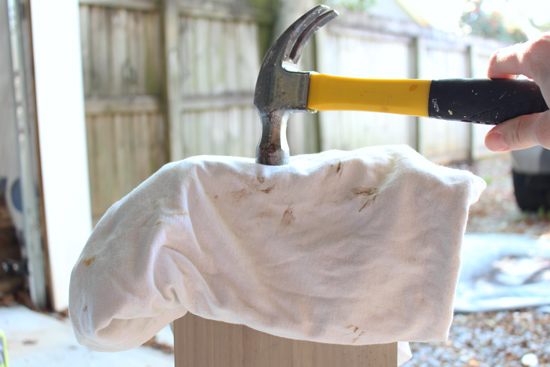 Securing Shelf Bracket to End of Shelf Board