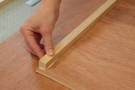 3/4 Inch Nailer In Window Seat Drawer Box