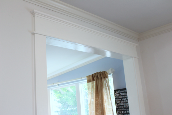 Diy Craftsman Cased Opening Trim Checking In With Chelsea