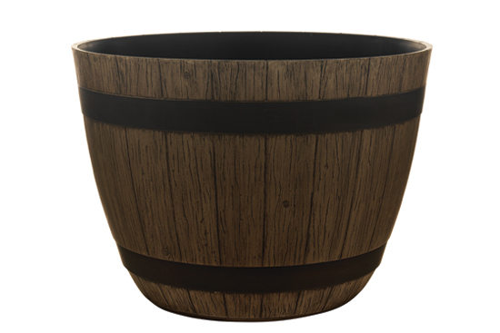 Wine Barrel Planter Included in Giveaway
