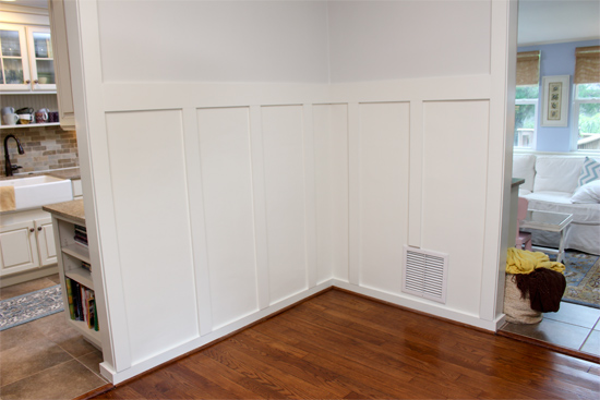 Cheap, Easy, and Quick Molding in Dining Room