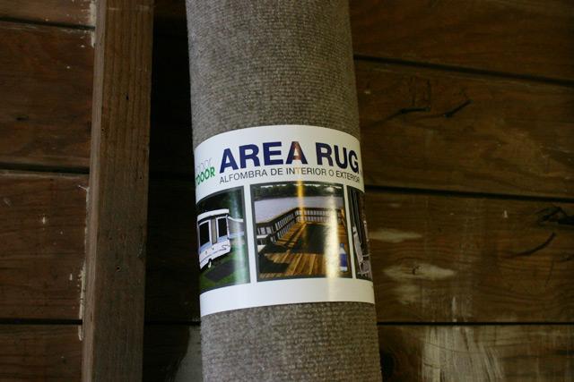 Indoor Outdoor Area Rug Packaging