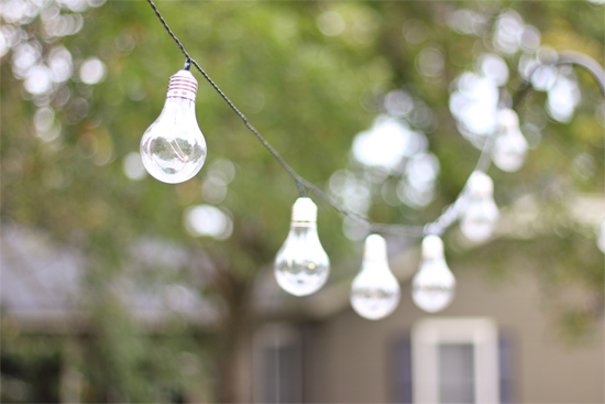 Moonrays Outdoor Living Vintage Bulb String Lights